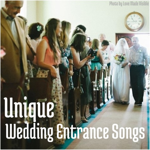 Wedding Entrance Songs For Bridal Party: Wedding Wednesday: Unique Wedding Entrance Songs