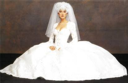 Wedding Dress Of The Week: Celine Dion | illuminate my event
