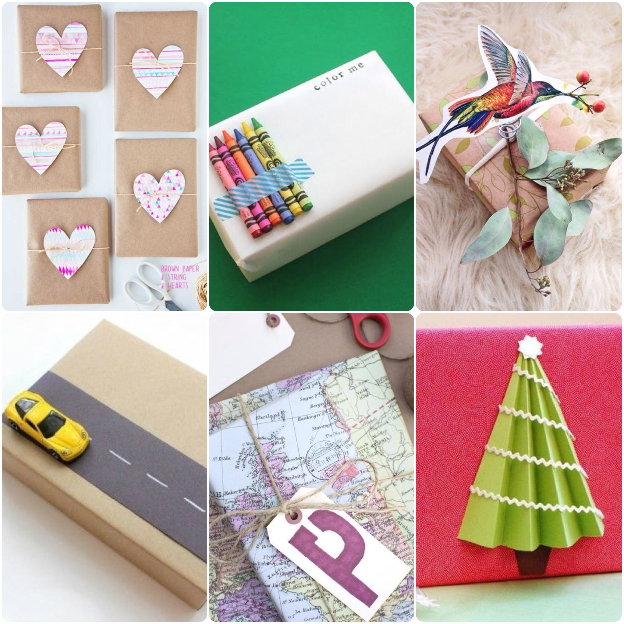 Creative gift wrapping ideas illuminate my event for Creative christmas ideas