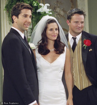 Courteney Cox And David Schwimmer