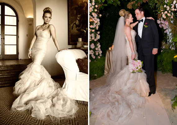 Wedding Dress Of The Week: Hilary Duff | illuminate my event