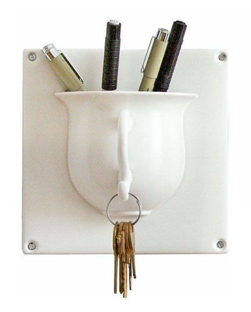 teacup stationary holder