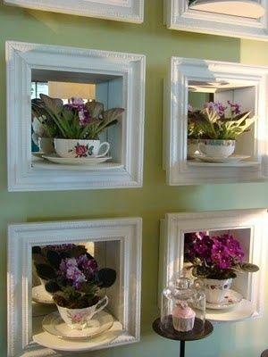 teacup wall frame