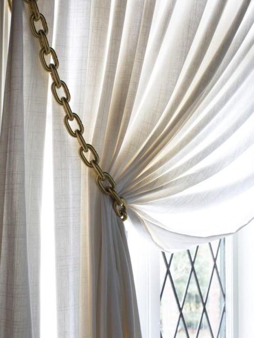 Curtain tieback 9