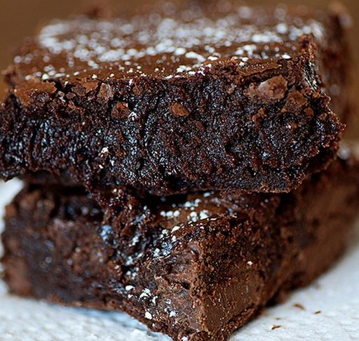 recipe: gooey chocolate fudge brownie recipe [12]