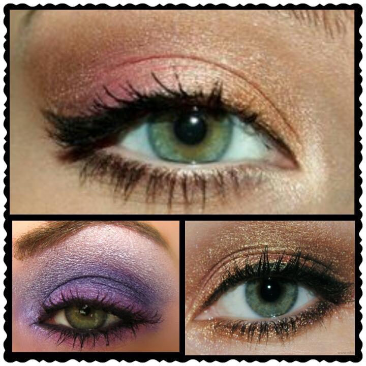green eyes eyeshadow | illuminate my event